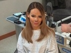 Cute! Katie Piper's talented glam-squad pay her a visit in hospital