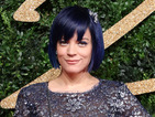 Lily Allen debuts new blue hair colour at British Fashion Awards