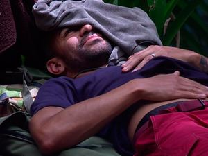 I'm A Celebrity: Kieron wants to win (after nearly quitting jungle)