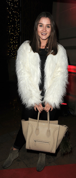 Brooke Vincent out and about in Manchester, 27th November 2015