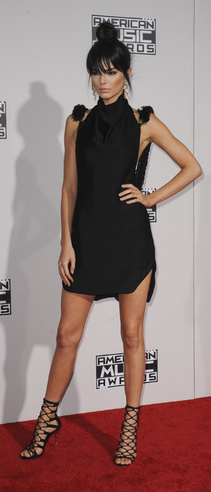 Kendall Jenner attends the 2015 American Music Awards in Los Angeles, 23rd November 2015