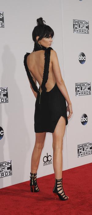 Kendall Jenner shows off backless mini dress, 2015 American Music Awards 2015, 23rd November 2015