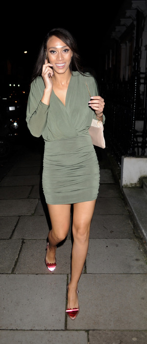 Rachel Christie at the My Perfect Eyelashes Launch party in London, 27th November 215