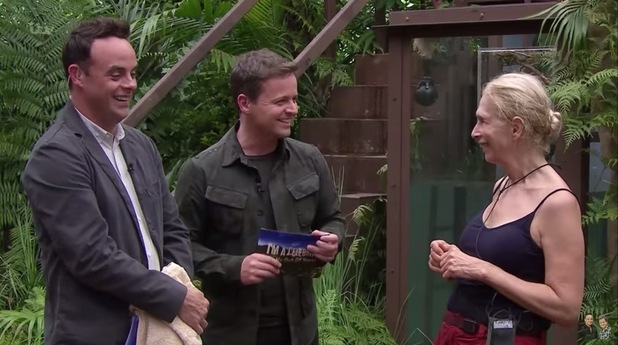 'I'm A Celebrity...Get Me Out Of Here!' TV Show, Australia - 23 Nov 2015 Bushtucker Trial - Helmets of Hell: Lady Colin Campbell with Anthony McPartlin and Declan Donnelly