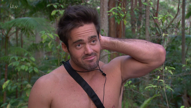 Spencer Matthews on 'I'm a Celebrity... Get Me Out of Here!' 19 November 2015.