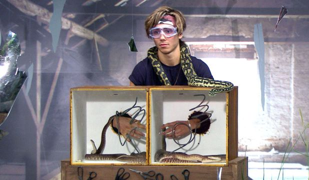 George Shelley, I'm A Celebrity... Get Me Out Of Here!, 28 Nov 2015