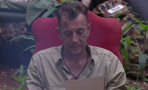 I'm A Celebrity...Get Me Out Of Here! Duncan in camp. 22 November 2015.