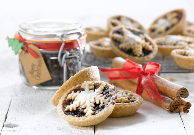 Whitworths star topped mince pies recipe Christmas