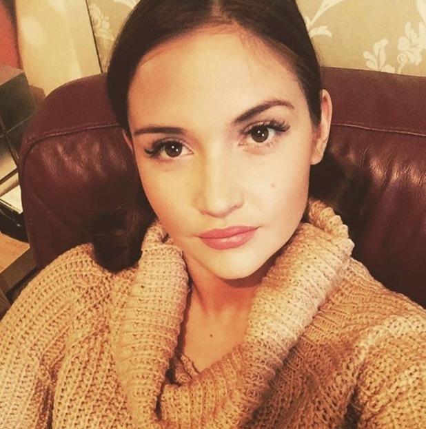Jacqueline Jossa shares very glamorous selfie on Instagram, 27th November 2015