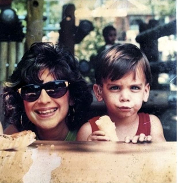 Nyle DiMarco with his mum
