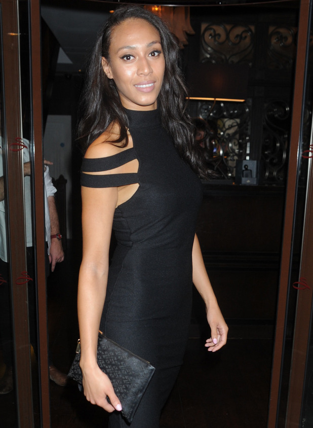 Love Island's Rachel Christie at Nikki Grahame JYY Clothing launch in London, 20th October 2015