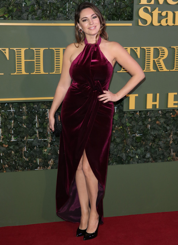Kelly Brook at the Evening Standard Theatre Awards held at the Old Vic in London, 23rd November 2015
