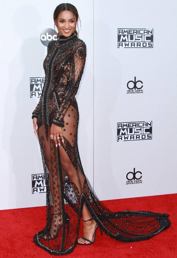 Ciara at the American Music Awards 2015 in Los Angeles, 23rd November 2015