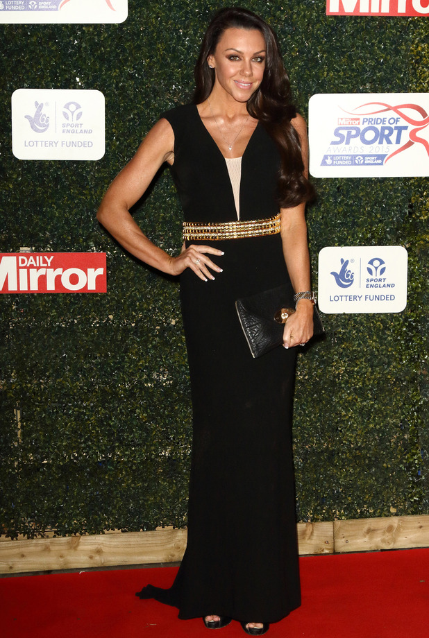 Michelle Heaton at the Daily Mirror Pride of Sport Awards in London, 26th November 2015