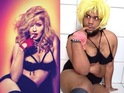 Joao Paulo poses as Madonna in his Instagram pic