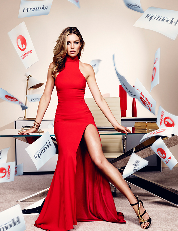 Britain's Next Top Model judge: Abbey Clancy