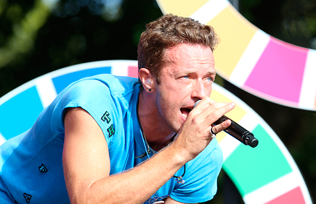 The 2015 Global Citizen Festival in Central Park Coldplay