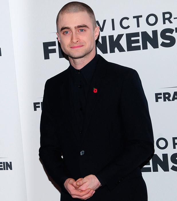 New York Premiere of 'Victor Frankenstein' at Chelsea Bow Tie Cinemas - Arrivals Daniel Radcliffe 2015