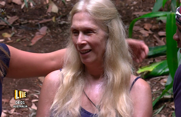 Lady Colin Campbell as it was announced that she has been selected for the next Bushtucker Trial on 'I'm a Celebrity... Get Me Out of Here!' Broadcast on ITV1 HD.