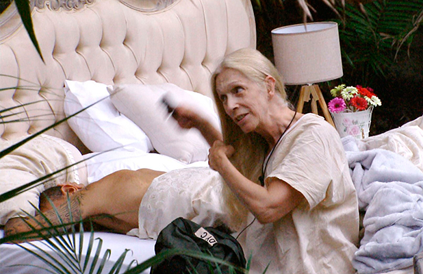 'I'm A Celebrity...Get Me Out Of Here!' TV show, Australia - 25 Nov 2015 Lady Colin Campbell and Kieron Dyer