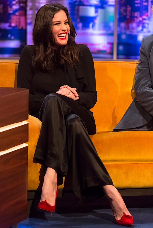 The Jonathan Ross Show', London, Britain - 28 Nov 2015 Liv Tyler