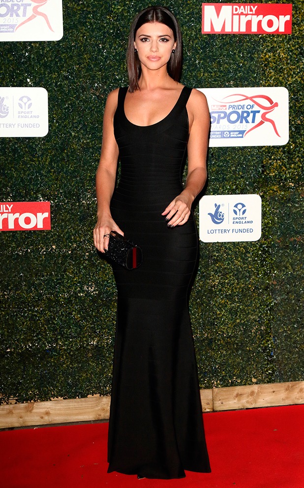 Daily Mirror Pride of Sport Awards at the Grosvenor House Hotel, Park Lane, London Lucy Mecklenburgh