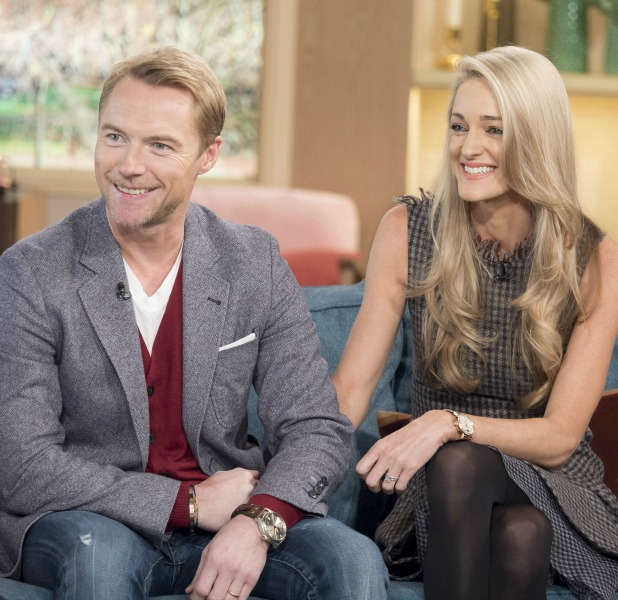 'This Morning' TV Programme, London, Britain - 25 Nov 2015 Ronan Keating and Storm Keating