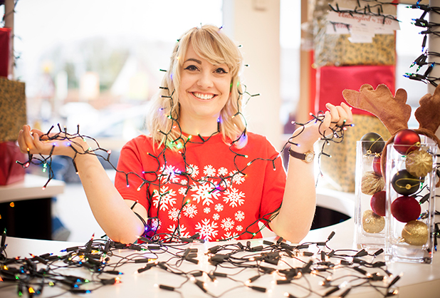 Tesco hires the UK's first Christmas tree lights untangler to help relieve some of the festive frustrations associated with the Yuletide season 23 Nov 2015