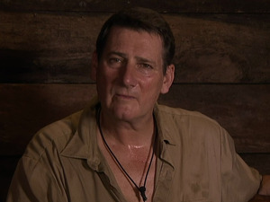Tony Hadley answers viewers questions from the bush telegraph on 'I'm A Celebrity... Get Me Out Of Here Now. 30 November 2015.