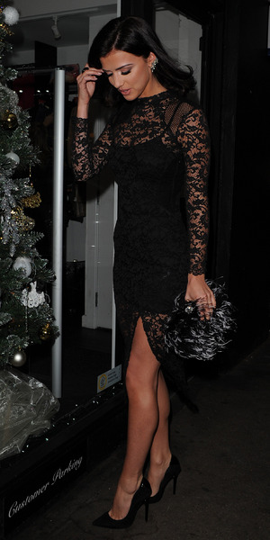 Lucy Mecklenburgh celebrates 3 years of her shop opening at her boutique with a girls night in 3 December