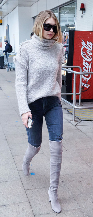 Gigi Hadid out and about in London, 30th November 2015