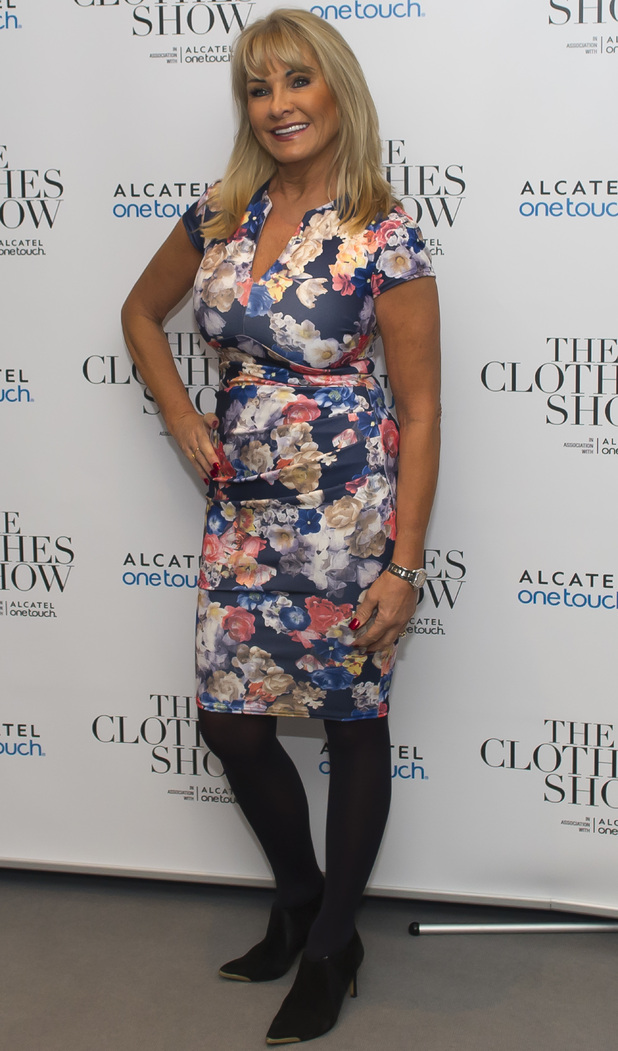 Carol Wright attends The Clothes Show - Day 1 at the NEC Birmingham, 4 December 2015