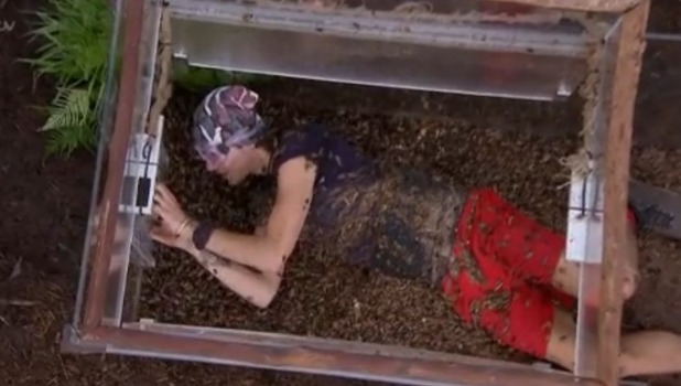 'I'm A Celebrity...Get Me Out Of Here!' TV Show, Australia - George's trial during finale
