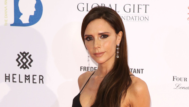 Victoria Beckham on the red carpet at the Global Gift Gala in London, 1st December 2015