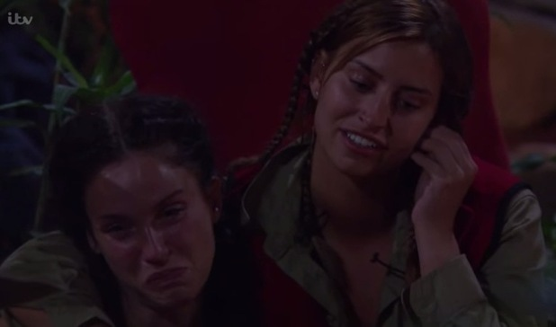I'm A Celebrity: campmates read out letters and Vicky is in tears. 2 Dec 2015