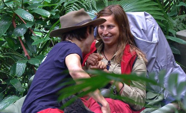 Ferne McCann and George Shelley flirt on I'm A Celebrity 3 December