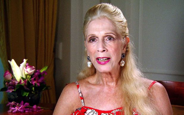 I'm A Celebrity...Get Me Out Of Here! TV show, Australia - 02 Dec 2015 Lady Colin Campbell interviewed after leaving the jungle
