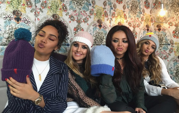Little Mix announced as latest celebrities to take part in Matalan's Beanie vs Bobble Alder Hey Christmas Campaign, December 2015