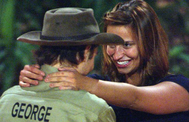 Ferne McCann and George Shelley flirting in the jungle? 5 Dec 2015