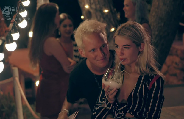 Jamie Laing and Jess Woodley Headline :Made In Chelsea Caption :Made In Chelsea. Broadcast on E4 HD PersonInImage :Jess Woodley,Jamie Laing Credit :Supplied by WENN