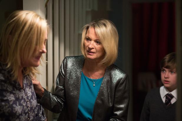 EastEnders, Kathy finds injured Jane, Mon 7 Dec