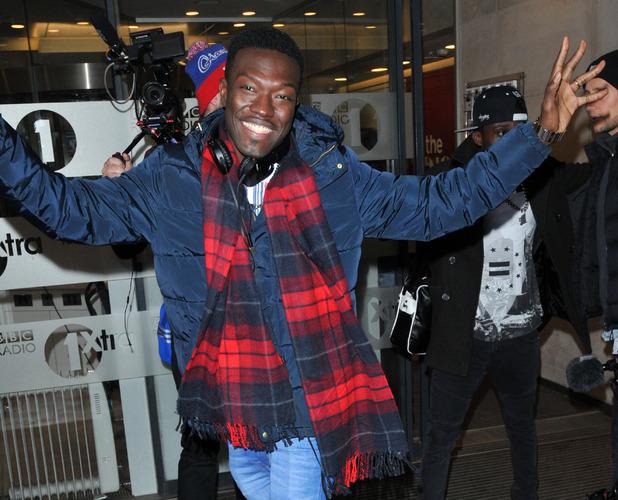 Reggie at Radio 1