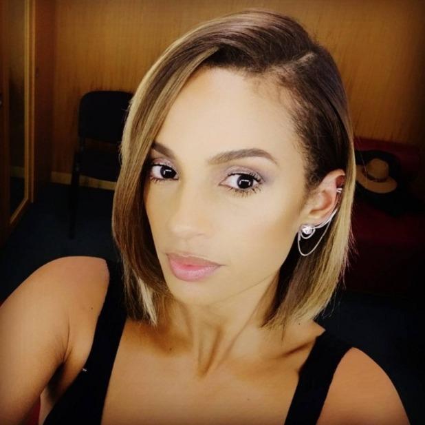 Alesha Dixon selfie, 21 November 2015