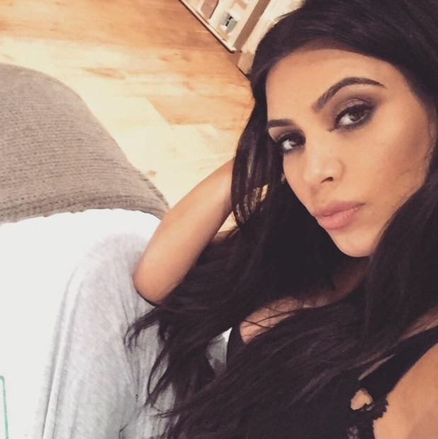 Kim Kardashian West waiting for second baby, 5/12/15