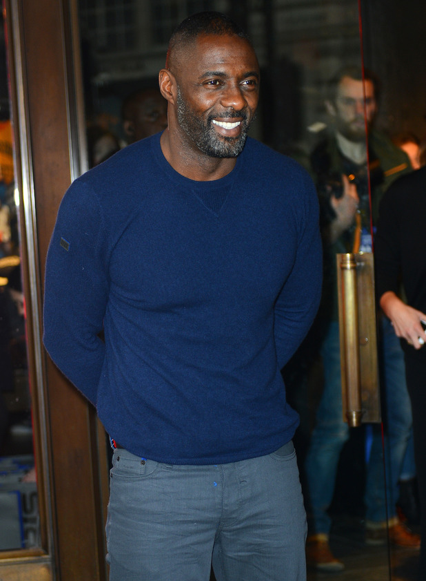 Idris Elba launches his new Superdry clothes range at the London Regent Street store - 26 November 2015.