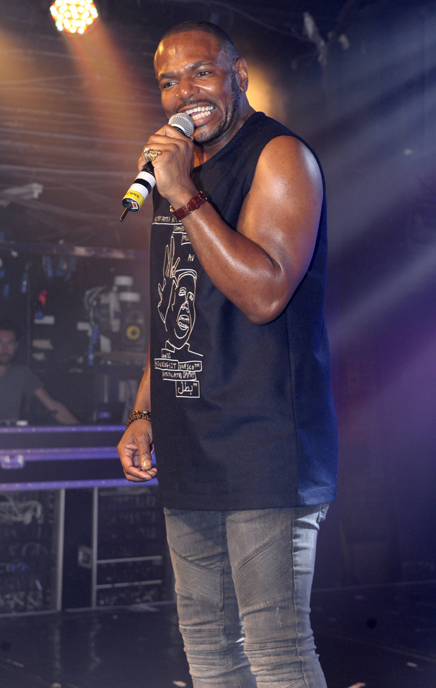 X Factor evictee Anton Stephans performing live at G-A-Y - 28 November 2015.