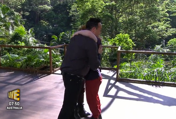 I'm A Celebrity: Yvette is the third celebrity evicted, 30 Nov 2015