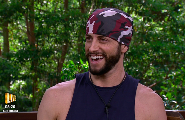 Brian Friedman speaking after he had been eliminated from the competition, on 'I'm a Celebrity... Get Me Out of Here!' Broadcast on ITV1 HD.