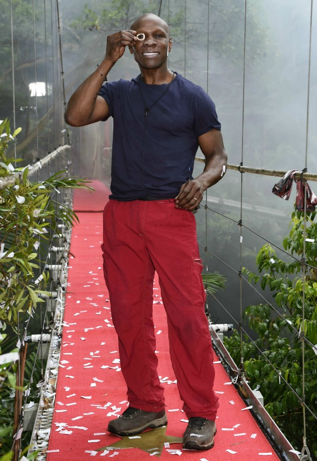 'I'm A Celebrity...Get Me Out Of Here!' TV show, Australia - 01 Dec 2015 Chris Eubank is the fourth Celebrity to be Evicted From the Jungle