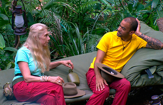 I'm A Celebrity...Get Me Out Of Here!' TV show, Australia - 28 Nov 2015 Morning on the day that Susannah is Evicted - Lady Colin Campbell and Kieron Dyer